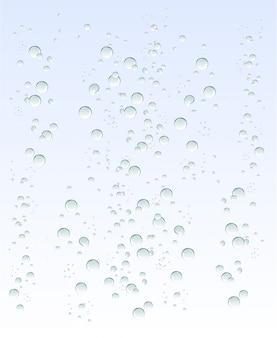 Bąbelki wody
