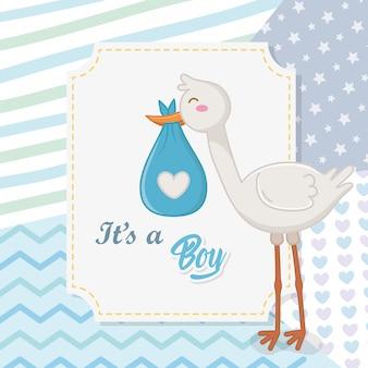 Baby shower chłopca