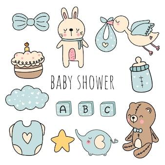 Baby shower, element chłopca!