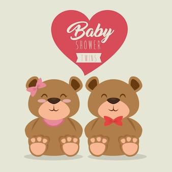 Baby shower kartkę z życzeniami