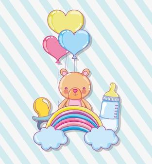 Baby shower kreskówki