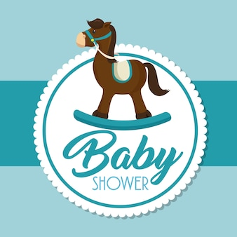 Baby shower zaproszenia karty