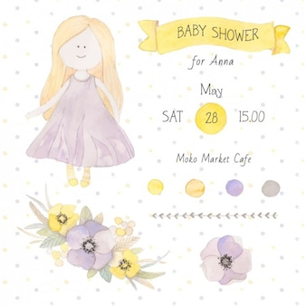 Baby shower zaproszenia