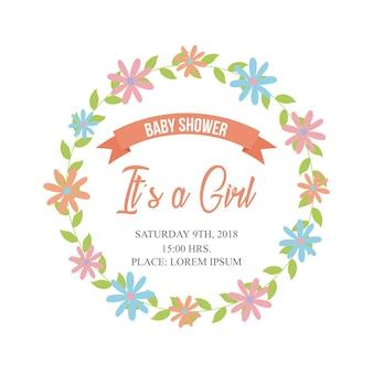 Baby shower związane ikony obrazu