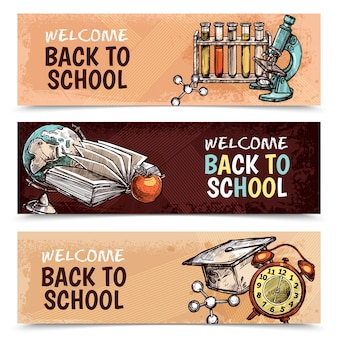 Back to school banery