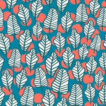 Backgound wzór liścia