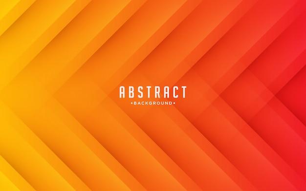 Backround abstrakcyjne kształty geometryczne pomarańczowy efekt zadrapania.