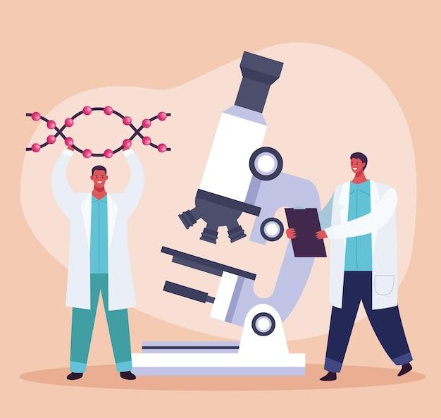 Badania genetyczne pod mikroskopem
