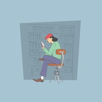 Badanie. ręcznie rysowane styl wektor zbiory ilustracji.
