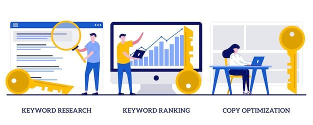 Badanie słów kluczowych, ranking słów kluczowych, koncepcja optymalizacji kopiowania. zestaw usług optymalizacji pod kątem wyszukiwarek