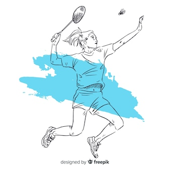 Badmintonista