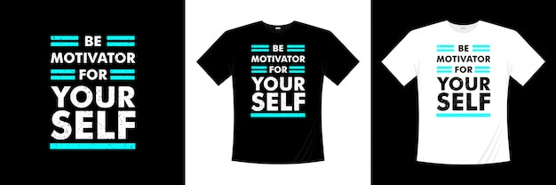 Bądź motywatorem do zaprojektowania własnej koszulki z typografią