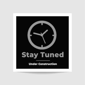 Bądź na bieżąco z projektem szablonu zdjęcia budowy
