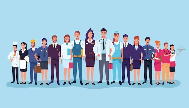 Bajki pracowników pracy zawodowej