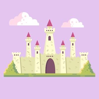 Bajkowa forteca fantasy