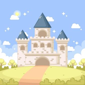 Bajkowy magiczny zamek