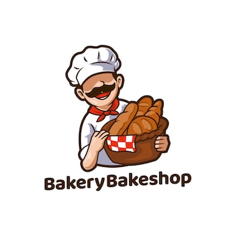 Bakery bakeshop food chleb maskotka