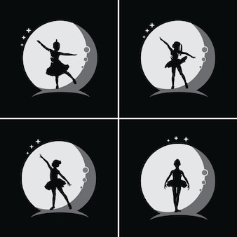 Balet dla dzieci z księżycowym tłem