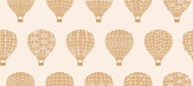 Balony retro wzór