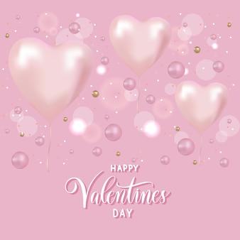 Balony w kształcie serca