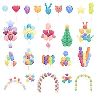 Balony zestaw kolekcja