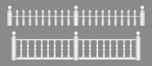 Balustrada marmurowa, balustrada balkonowa lub poręcze.