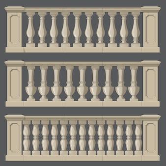 Balustrada na elementy zewnętrzne i parkowe