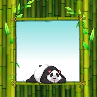 Bambusowa rama
