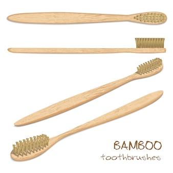Bambusowe szczoteczki do zębów