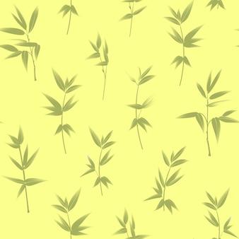 Bambusowy wzór.