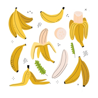 Banan, plasterek banana, banan obrany, skórka banana