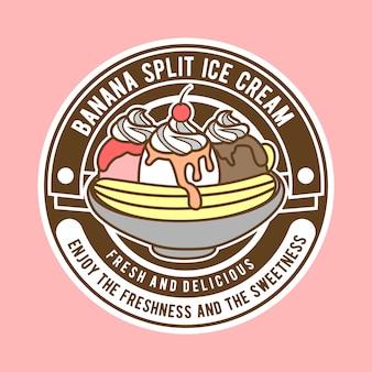 Bananowe logo split