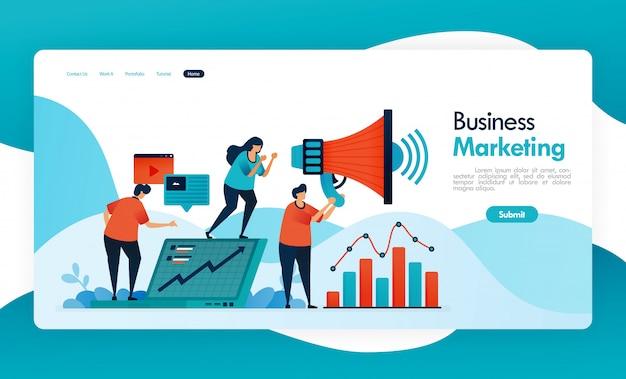 Baner biznesowy polecający znajomemu, program polecający mlm, agent stowarzyszony i marketing, zwiększaj przychody, zapraszając znajomego, megafon do promocji i reklam.