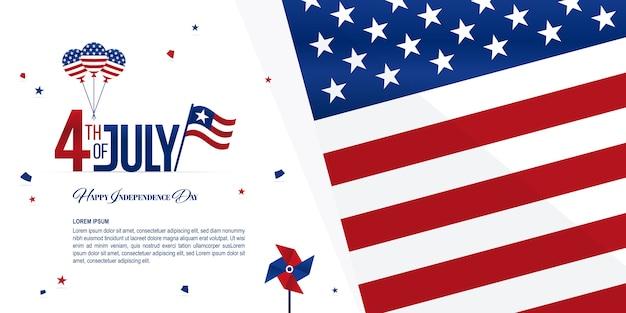 Baner dnia niepodległości