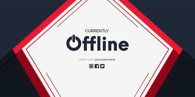 Baner drgań offline