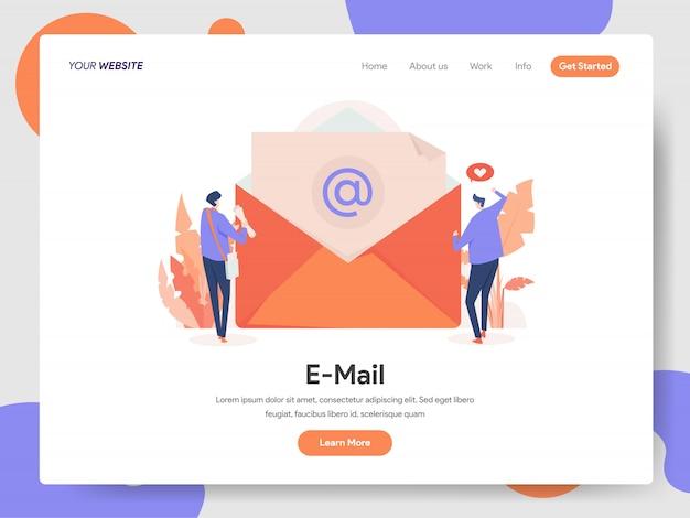 Baner e-mail strony docelowej