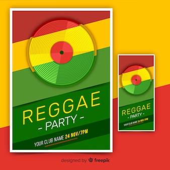 Baner imprezowy reggae