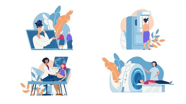 Baner informacyjny badania i diagnoza ciała.