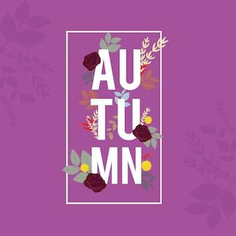 Baner jesień, sprzedaż i rabat, element i szablon www automn.