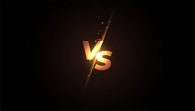 Baner kontra ekran kontra do bitwy lub porównania