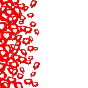 Baner latać jak sieć społecznościowa. białe tło. ilustracja wektorowa
