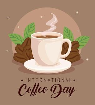 Baner międzynarodowego dnia kawy
