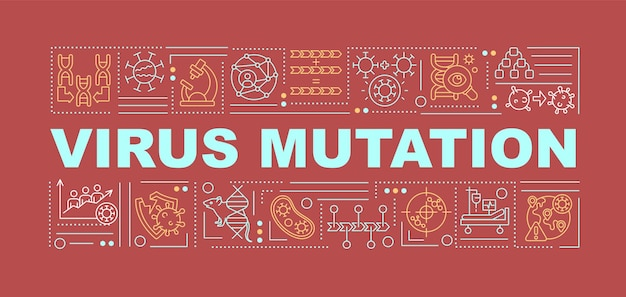 Baner mutacji wirusa