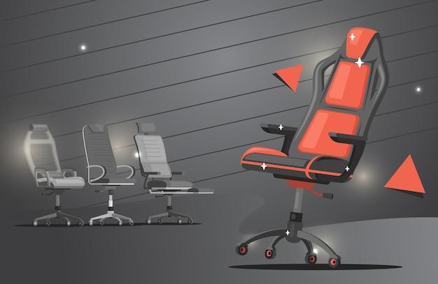 Baner na krzesło do gier