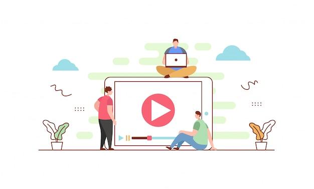 Baner odtwarzacza wideo
