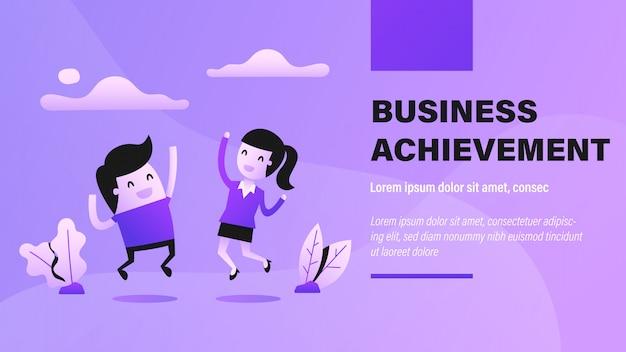 Baner osiągnięć biznesowych