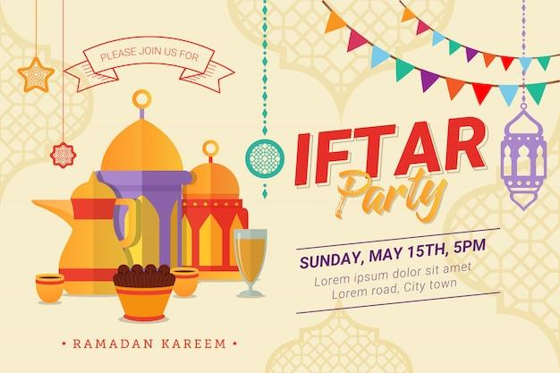 Baner projektu ramadan iftar