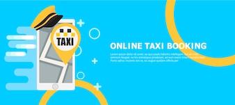 Baner rezerwacji taksówek online