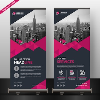 Baner roll-up firmy