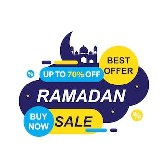 Baner sprzedaży ramadan